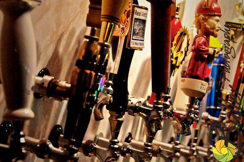 Beers at JP Hops 1